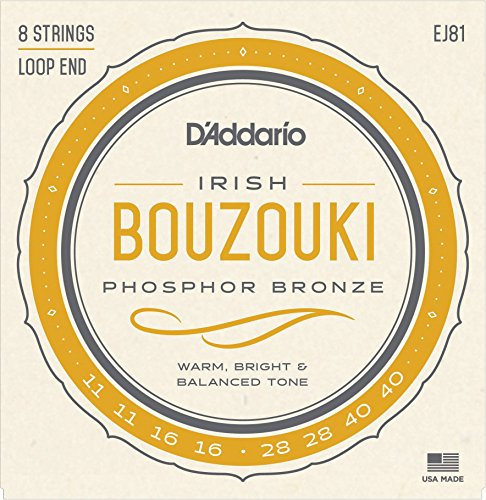 - D'Addario EJ81 Irish Bouzouki Strings