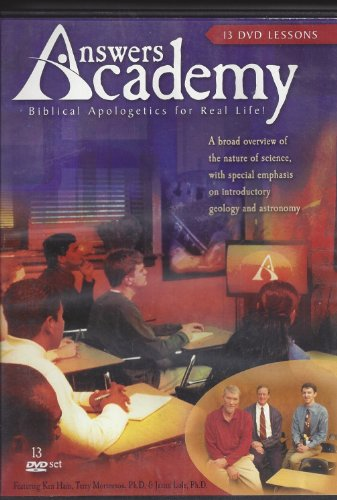 - ANSWERS ACADEMY- Biblical Apologetics for Real Life ! (13 Dvd Lessons)