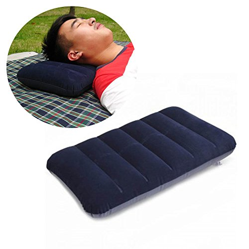 Cloud Soft Foam Memory Pillow with Free Memory Foam Travel Pillow (Red) - 6
