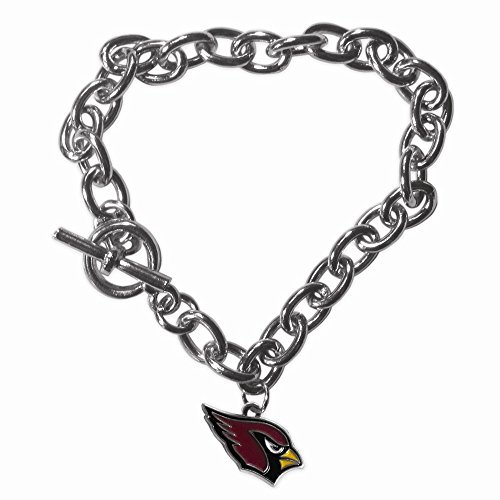 Gifts Licensed Gifts NFL Arizona Cardinals Charm Chain Bracelet