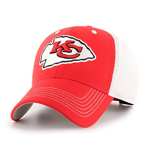 Kansas City Chiefs Cap (OTS NFL Kansas City Chiefs Sling All-Star MVP Adjustable Hat, Torch Red, One Size)