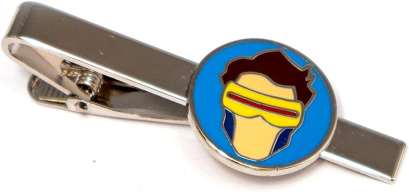 SharedImagination Cyclops Cufflinks, The X-Men Tie Clip, Marvel Minimalist Jewelry, Wolverine Cuff Links Link, Deadpool Tie Tack Groomsmen Wedding Party Gift