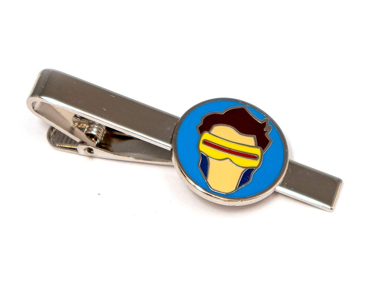 SharedImagination Cyclops Cufflinks Wolverine Cuff Links Link Deadpool Tie Tack Groomsmen Wedding Party Gift Marvel Minimalist Jewelry The X-Men Tie Clip