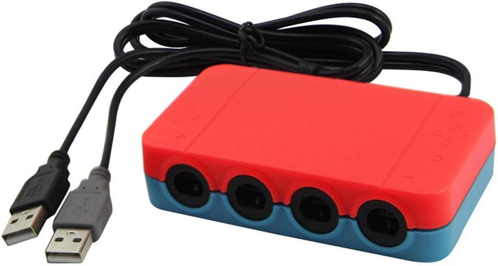 Vococal - Adaptador de 4 Puertos para Mando de Nintendo Switch ...
