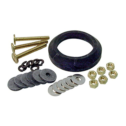 Danco, Inc. 88913 Tank To Bowl Repair Kit, For Use With Mansfield Het Toilets, Galvanized Steel,