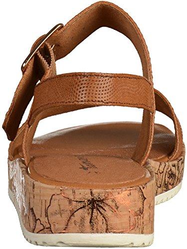 Tamaris - Tira de tobillo Mujer marrón