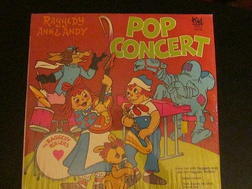 Raggedy Ann Andy Pop Concert 1980 Vinyl Record