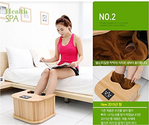 Goodfriend INNO-F4 Far-infrared foot sauna Dry foot bath machine 220V Health Spa & therapy (Infrared Sauna Therapy)