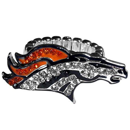 NFL Denver Broncos Womens Crystal Ring