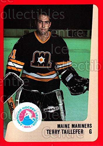 Terry Taillefer Hockey Card 1988-89 ProCards AHL 148 Terry Taillefer CI