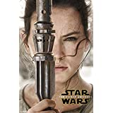 Trends International Star Wars The Force Awakens Rey Portrait Wall Poster 22.375
