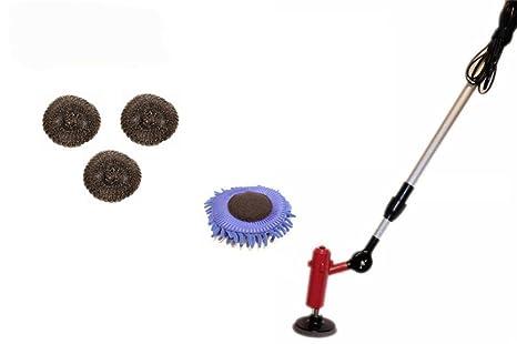Cepillo Eléctrico de la Bola del Alambre de Acero del Cepillo de la Limpieza de la