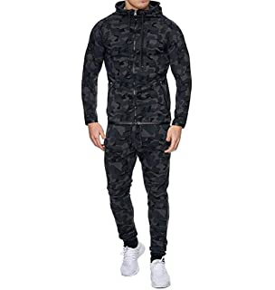 Men Outdoor Hooded Cotton Sport Suits 2pcs//Set Sport Running Set
