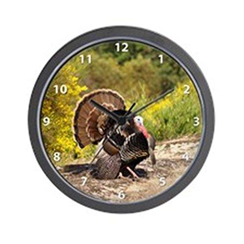 CafePress - Turkey Strut Wall Clock - Unique Decorative 10