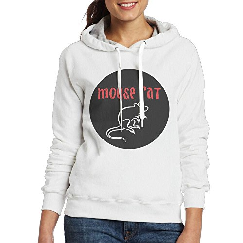 Hoodies For Women Pullover Womens Sweaters Hooded Sweatshirt DerlonKaje Mouse Rat -