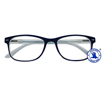 df50ce5807 I NEED YOU Fashion Reading Glasses Blue For Men   Women - Full Rim Eyewear  Designer