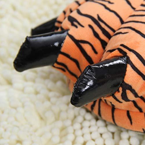 Patte Forme Plush Paw D'un Tigre Dinosaure Dans Unisexe Mignon Et Chnmarket Motif La De w6RqzS
