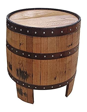 Nessie Round Solid Oak Wood Barrel Coffee Table Handmade Wooden Cask  Furniture. Nessie Round Solid Oak Wood Barrel Coffee Table Handmade Wooden