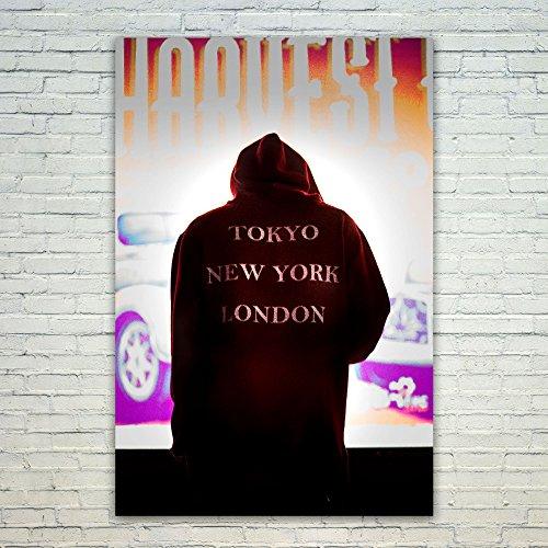 Westlake Art Poster Print Wall Art - T-shirt Red - Modern Pi