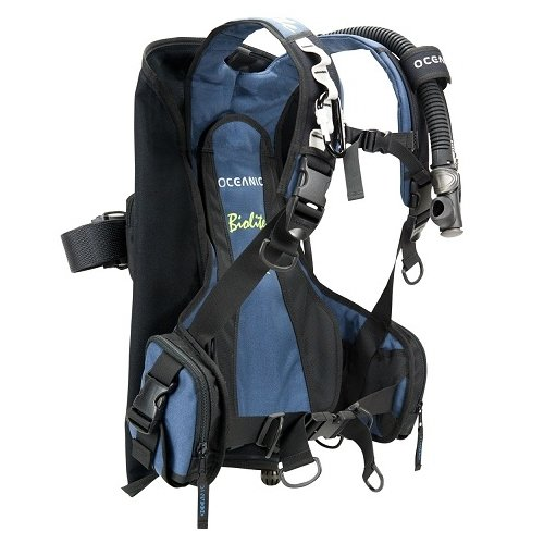 Travel Buoyancy Compensator - Oceanic BioLite Travel Scuba Diving BCD Buoyancy Compensator