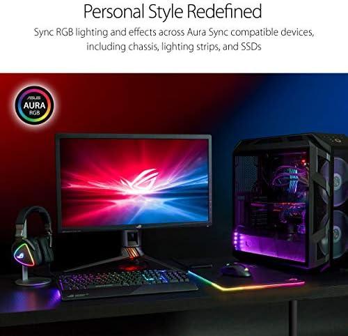 ASUS ROG Balteus RGB Gaming Mouse Pad – USB Port   Aura Sync RGB Lighting   Hard Micro-Textured Gaming-Optimized Surface & Nonslip Rubber Base 51F 2BCCeBZAL