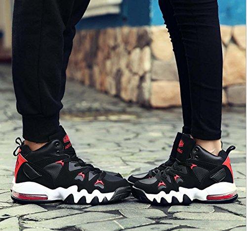 Slow Shock Sneaker Zapatillas De Deporte Zapatos De Deporte Zapatos De Correr No Deslizante Zapatos De Hombres Al Aire Libre Black