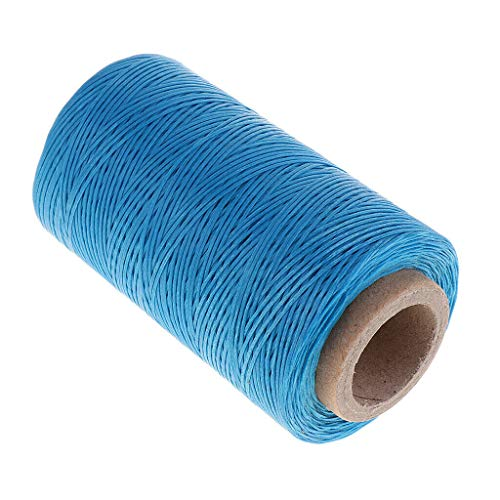 1 Roll DIY Sewing Cord Waxed Threads for Jewelry Making Crafts Accessories | Color - Blue