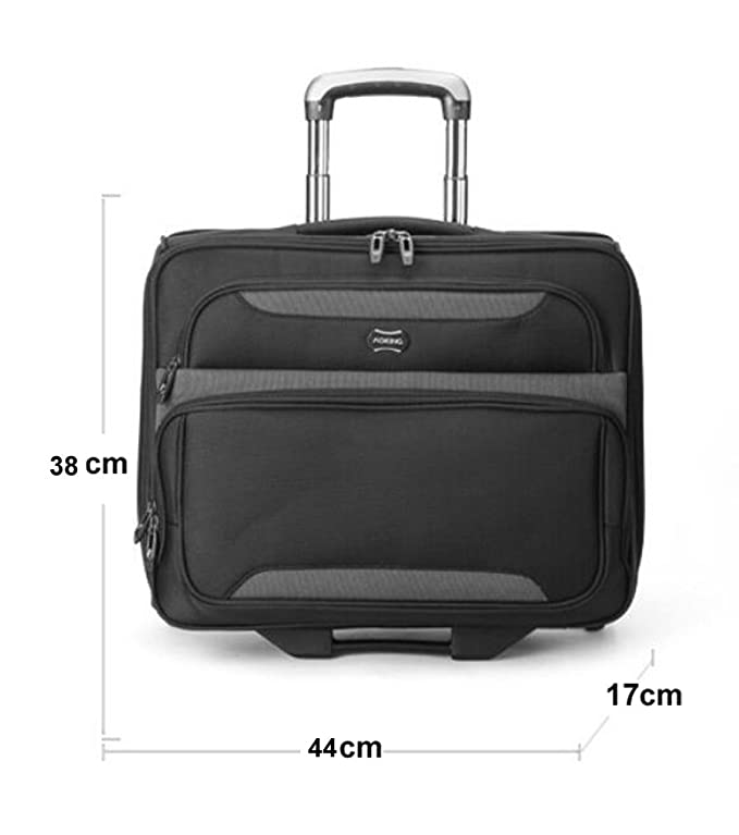 Maletas para Cabina Piloto Laptop con Ruedas Business Trolley Maletin Informático Carry On Roller Cases: Amazon.es: Deportes y aire libre