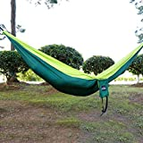 YTYC 260130CM Large Size Portable 2 People Hammock Camping Leisure Hammock Swing