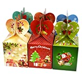 12pcs Cute Cartoon Gift Fruit Candy Box For Wedding Christmas Festival Party