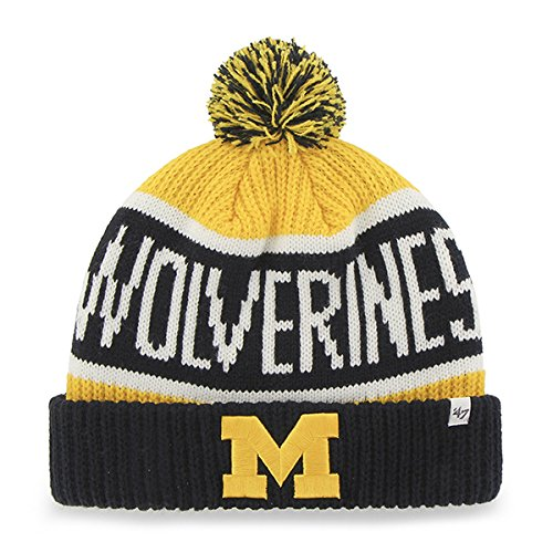 '47 NCAA Calgary Cuff Knit Hat, One Size, Yellow Gold (Shops Calgary Outdoor)