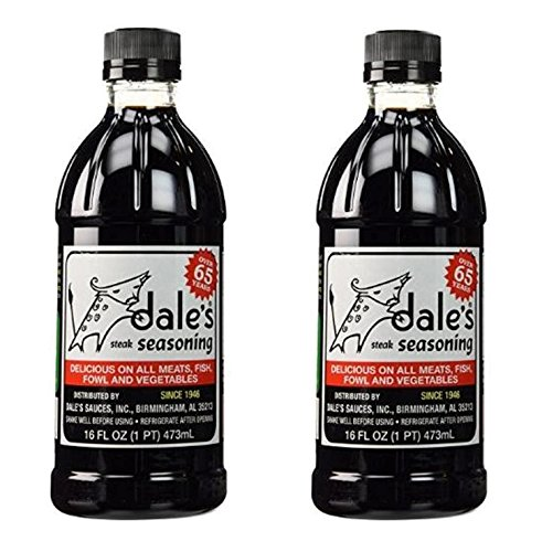 Dales Steak Seasoning 16 ounce Liquid Bottle (Pack of 2)