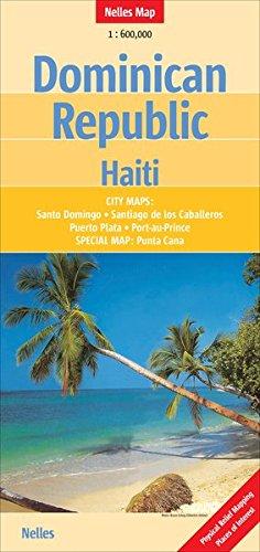 Dominican Republic - Haiti 1 : 600 000 (Nelles Map / Strassenkarte)