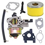 gx270 carburetor gasket - Atoparts Carburetor Carb with Gasket Air Filter Kit for Honda Gx240 Gx270 8hp 9hp Replaces#16100-ZE2-W71 16100-ZH9-W21