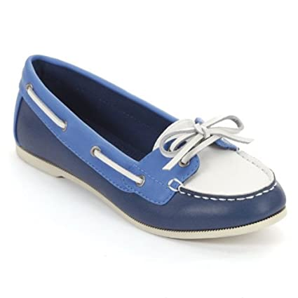 7b34a0f8ba67 Amazon.com: Croft & Barrow Blue Boat Shoes - Women: Everything Else
