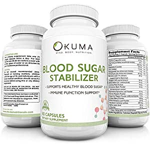 Well-Being-Matters 51F%2BEgCGlbL._SS300_ Blood Sugar Stabilizer - Promotes Healthy Insulin Levels | Helps Eliminate Energy Crashes | Reduces Brain Fog and…