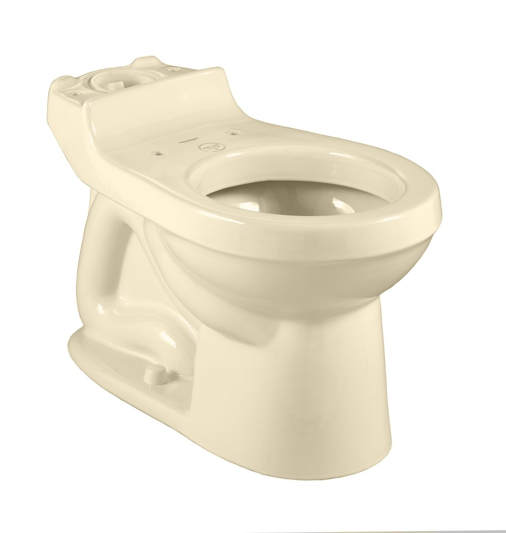 American Standard 3110.016.021 Champion Round Front Toilet Bowl with Bolt Caps, Bone (Bowl Only)