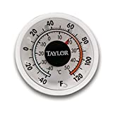 Taylor Precision 5982N Classic Series Milk / Beverage Thermometer (Adhesive/Magnetic Backing)