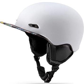 Ski-Penostr Hombre/Mujer Cascos de Esquí Casco de Snowboard Moto Bicicleta Ciclismo Monopatín