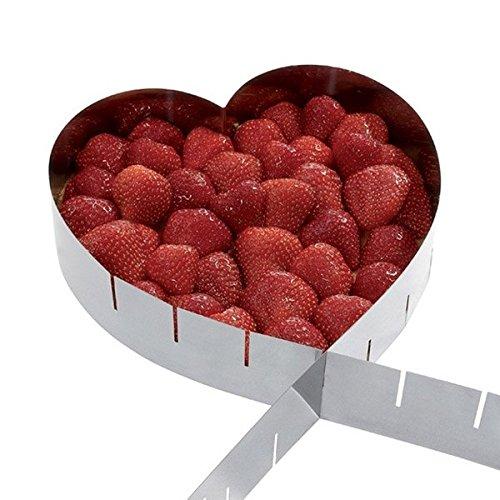Marco extensible pastelería - Corazón