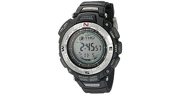 Casio paw1500 - 1 V - Reloj de Pulsera de Mujer, Correa de plástico Color Negro: Casio: Amazon.es: Relojes