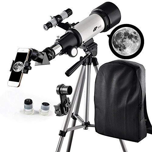 Telescope 70mm Apeture Travel Scope 400mm AZ Mount - Good Pa