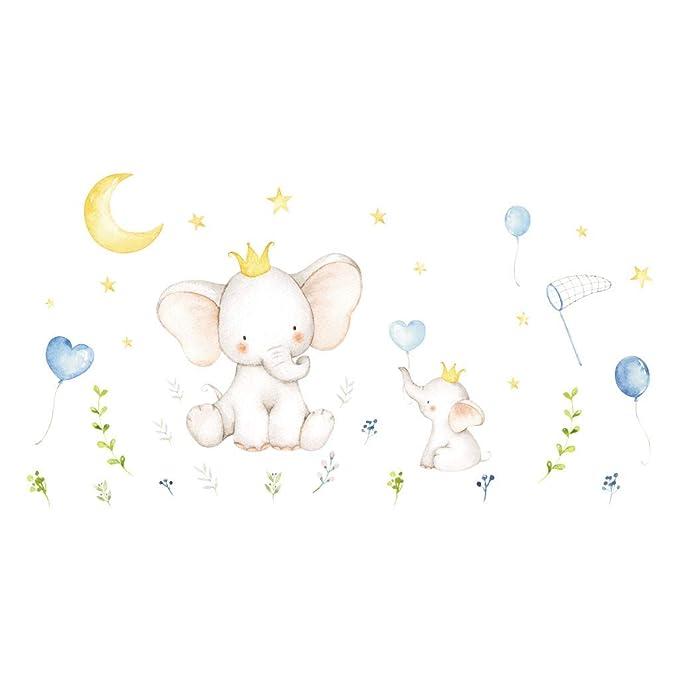 Deajing Stickers Elefante Animal De La Historieta ...