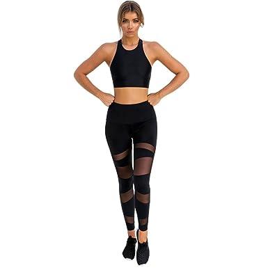 840c03c6b70c8 Sale Clearance Women's Leggings Tummy Control Plus Size Mesh Patchwork High  Waist Yoga Pants Stretch Sports