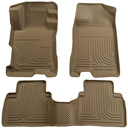 Door Tan 4 Floor Front (Husky Liners Front & 2nd Seat Floor Liners Fits 12-13 Civic 4 Door)