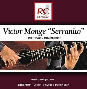 Royal Classsics SRR70 - Cuerdas para guitarra, tensión fuerte