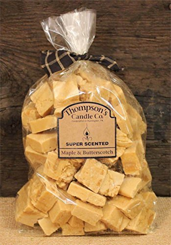 Thompson's Candle Co Super Scented Crumbles/Tarts Melts 32 oz Maple & ()