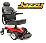 Pride Mobility JELITEES-1 Jazzy Elite ES - 1 Electric Wheelchair - Red