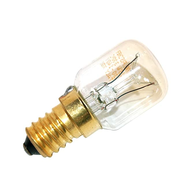 DeClean 4 St/ück Herd Backofen Lampe Birne E 14 bis 300/° Grad C 15 Watt 25mm Durchmesser