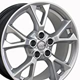 #7: 18x8 Wheel Fits Nissan, Infiniti - Nissan Maxima Style Hyper Silver Rim, Hollander 62582